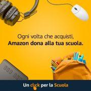 Un click per la scuola – AMAZON-